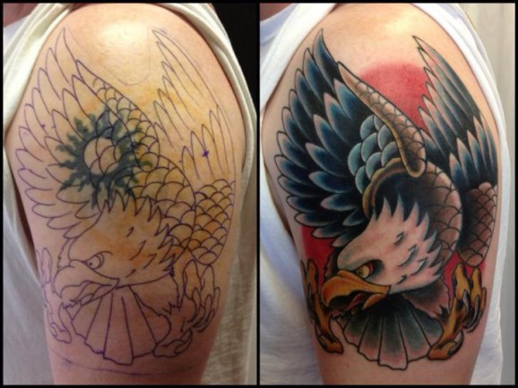 Tatuajes Para Tapar Otro Tatuaje cubrir un tatuaje: algunas cosas a tener en cuenta - clave tattoo